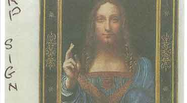 Harp Sign: Da Vinci's Salvator Mundi