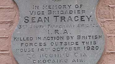 Seán Treacy Plaque