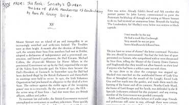 Extracts from the book: Society's Queen