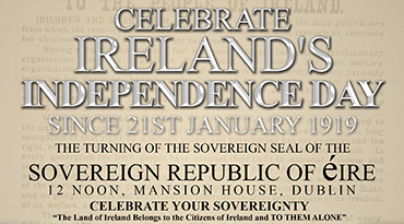 Celebrate Ireland's Independence day