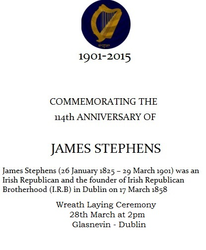 James Stephens Commemoration