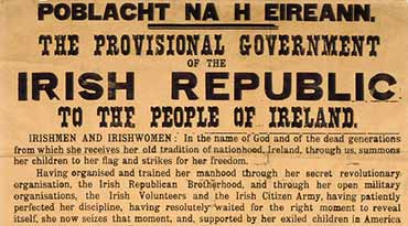 Proclamation Of The Irish Republic - 1916
