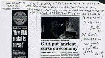 GAA put 'ancient curse on economy'