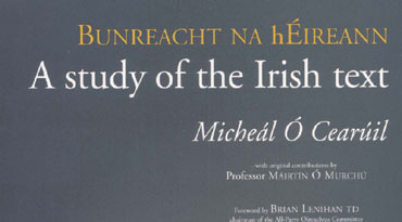 A study of the Irish text - Micheál Ó Cearúil - 1937