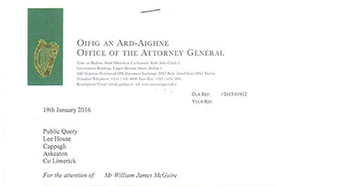 Attorney General's Reply
