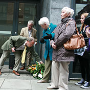 The Laying of a Wreath on behalf of the IRB