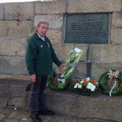 The Irish Volunteers lays wreath on behalf of IRB in Howth