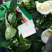 Wreath for GPO - Easter Sunday 2014