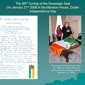 Turning of the Sovereign Seal