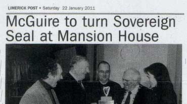 McGuire to turn Sovereign Seal at Mansion House
