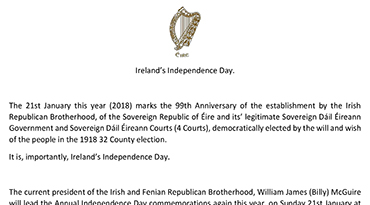 Ireland's Independence Day