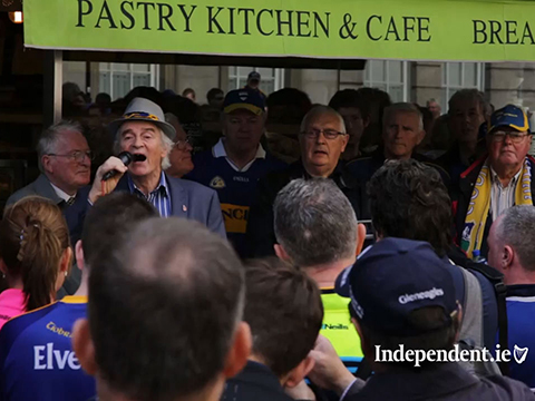 Tipperary fans honour local patron before All-Ireland final